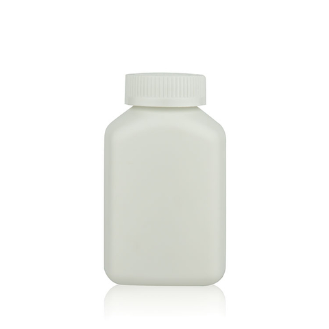 200cc Square Medicine Bottle With Child-resistant Cap