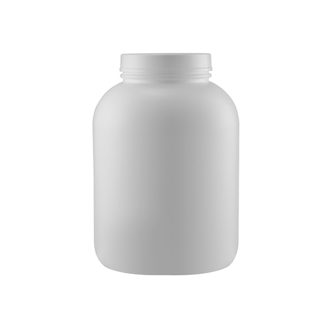 Nature White Hdpe Plastic Bottle Plastic Container Jar Food Tubs Tub Food Grade