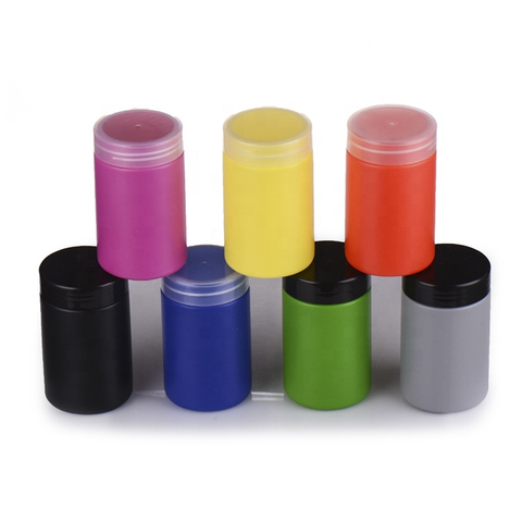 Colorful Plastic Plain Bottle with Printed Logo