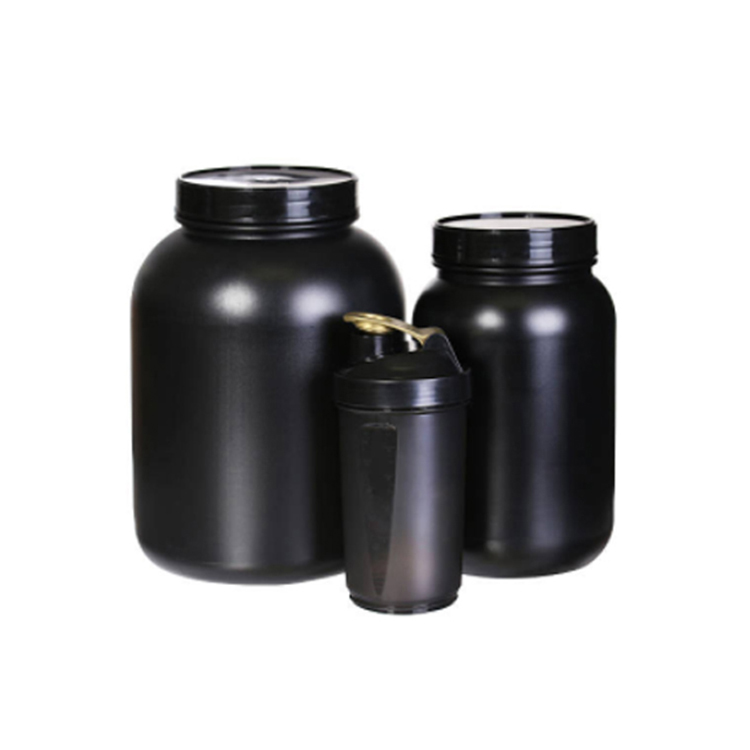 Protein Big Gallon Canister With Screw Lid Package