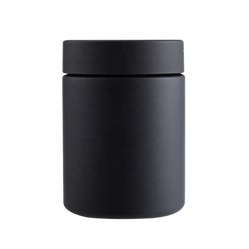 Custom Dietary Supplement Canister with Wide Lid